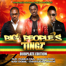 DJ SHREDAHS BIG PEOPLE TINGZ DUBPLATE EDITION MIX CD