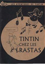 PASTICHE : TINTIN CHEZ LES RASTAS ! éd. Nougatine / détournement / COLLECTOR