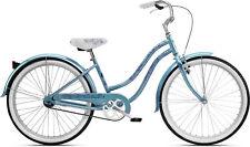 Nirve Beach Blossom Single Speed Ladies Steel Cruiser Bike Frost Blue