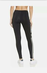 Adidas Trefoil Tights,Orignal Women's Color Black & White Size Small