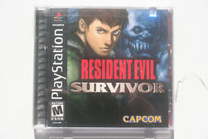 Resident Evil Survivor PS1 US NTSC in Mint and Complete Condition RARE