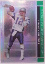 2007 Topps Finest Tom Brady SP Green Refractor Insert Card # 35 / 199