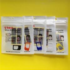 5x Micro SIM Card Adapter/Holder/Converter - Apple iPad 1/2/3/4 iPhone 4/4S SIM