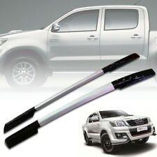 ROOF RACK ROLL BAR SILVER GLOSS BLACK FIT TOYOTA HILUX VIGO SR5 MK6 MK7 05-2014