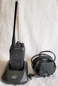 Kenwood TK-3160K UHF Radio with KSC-25 Rapid Rate Charger