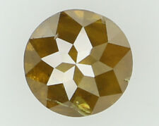 Natural Loose Diamond Yellow Color Round I1 Clarity 4.65X3.05 MM 0.52 Ct N5276