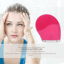 AfterGlow Facial Exfoliator Face Wash Brush Cleansing Silicone  Cleanser t-sonic