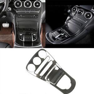 Car Center Console Gear Panel Cover Trim For Mercedes Benz C Class W205 GLC X253