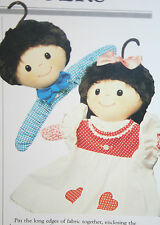 Rag Doll Coat Hangers Sewing Pattern