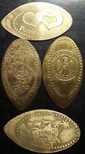 Ukraine - elongated coins of the village of Stepok on Azov