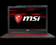 "MSI 17,3"" FHD i7 8GB RAM 256GB SSD+1TB HDD GTX 1050Ti FreeDOS"