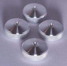 UNIQUE - British Made - 4x XLARGE CNC aluminium Speaker spike pads shoes feet