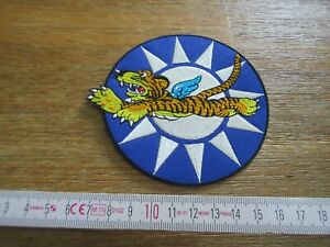 US Army Flying Tigers AVG 1942 USAAF Airborne Wings Nose Art Patch Stars WK2