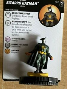 "DC HeroClix ""Joker's Wild""62 Bizarro Batman - Chase"