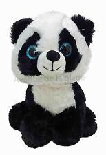 Peluche bébé Panda aux yeux brillants, doudous pas cher, jouet, neuf