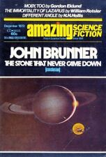 AMAZING SCIENCE FICTION Magazine, December 1973. 130-Pages. Free UK Postage