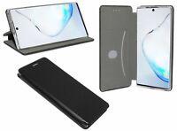 Book-Style Handy Hülle Tasche ELEGANC Black Samsung Galaxy Note 10 N970F @COFI