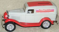 Ertl Diecast Bank With Key Ben Franklin Store 1932 Ford Delivery Van