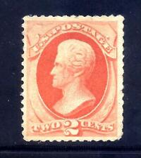 US Stamps - #183 - MNG - 2 cent Jackson Issue - CV $40