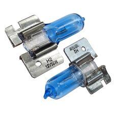 2x ampoules H2 12V 55W X511 lumière blanche effet Xénon
