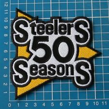 NFL Football PITTSBURGH STEELERS 50th Anniversary SUPERBOWL PATCH SEW ON EMBROID