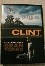 Flags of our Fathers/Gran Torino (DVD, 2-Disc Film Set) Brand new not sealed.