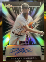 2020 Leaf Metal Draft EDWARD CABRERA Auto 15/15 Marlins EBay 1/1!!!🔥🔥🔥
