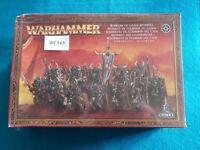 Warhammer Fantasy - Warriors of Chaos Regiment Box Sealed - WF349