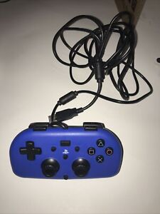 Hori PlayStation 4 Mini Wired Gamepad Blue One Controller