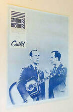 Smothers Brothers Vintage Poster Tommy Smothers plays Guild D-55 pin-up 1960's