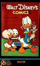 WALT DISNEY'S COMICS AND STORIES #133 (VOL.12 No.1) FN/VF CARL BARKS ART! (1951)
