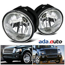 2007-2014 Ford Expedition/2008-2011 Ranger Fog Lights Bumper Lamps Pair