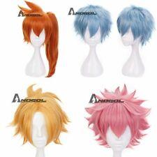 Anogol Kaminari Denki Wig My Hero Academia Cosplay Wigs Orange Synthetic Hair