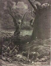 Gustave Doré Anciens Marins 1876 XIX ème Marine Marin Death-fires Dancing