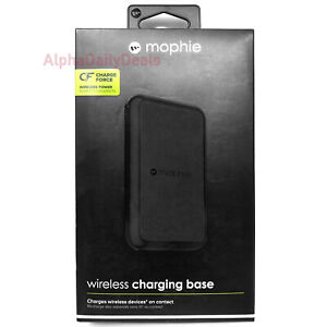 NEW Mophie Charge Force Qi Wireless Charging Base Stand Pad iPhone X Galaxy S8+