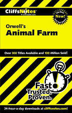 NEW CliffsNotes on Orwell's Animal Farm (Dummies Trade) by Daniel Moran