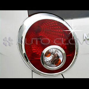 Chrome Tail Light Lamp Cover 4pc For 2007 2008 2009 Chevy Matiz