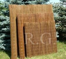 140x500 cm Weidenmatte exklusiv Sichtschutz Rollzaun Sichtschutzmatte