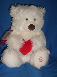 Hallmark Plush Louie Hug Me Bear Light Up Talking Shaking