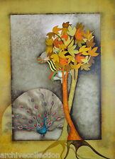 """Graciela Rodo Boulanger """"Un Paon Pour Sophie"""" Original Lithograph Artwork"""