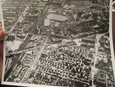 1934 Flatbush Nostrand Junction CIRCUS Brooklyn College Aerial Photo reprint NYC