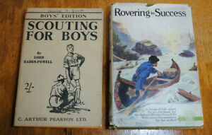 SCOUTING FOR BOYS + ROVERING TO SUCCESS ~ LORD BADEN POWELL.