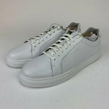 Cole Hann Mens Grand SRS Series Jenson All White Casual Sneakers Shoes Size 10.5