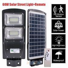 150000LM 60W LED Luz Solar Street Radar Sensor De Movimiento Lámpara de Pared al Aire Libre de carretera