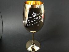 Moët Chandon Imperial Gold Glas Champagner ECHTGLAS Gläser NEU OVP Ibiza