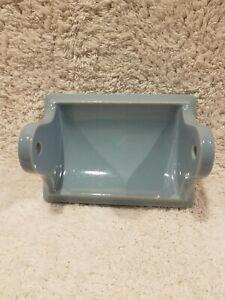 Vintage Porcelain Ceramic tile bathroom fixtures toilet paper holder