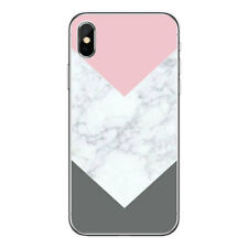 For Iphone 6 6S Marble Pattern Design Slim Soft Rubber TPU Back Phone Case Cover
