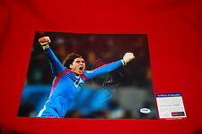 GUILLERMO OCHOA mexico world cup soccer signed PSA/DNA 11X14 photo 5