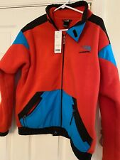 THE NORTH FACE MENS 90's EXTREME FLEECE JACKET  RED Men S Women M