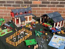 Playmobil 4055 Mega Farm Set House, Barn, Tractor, Combine harvester Animals